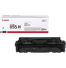 Canon 055HCyan - Toner Canon haut rendement d'origine (3019C002AA)