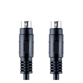 Bandridge Câble S-Vidéo (1x S-Video 4-pin Male, 1x S-Video 4-pin Male) - 5 mètre (BVL6502)