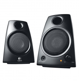 Logitech Speaker System Z130 - stéréo 2.0 - 5 Watts - Jack 3.5 mm