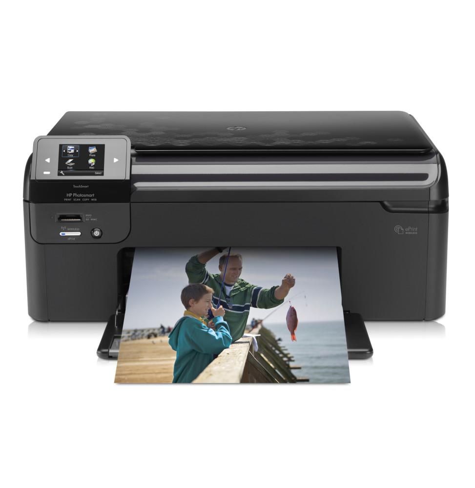 imprimante tout en un sans fil hp photosmart cn245c iris. Black Bedroom Furniture Sets. Home Design Ideas