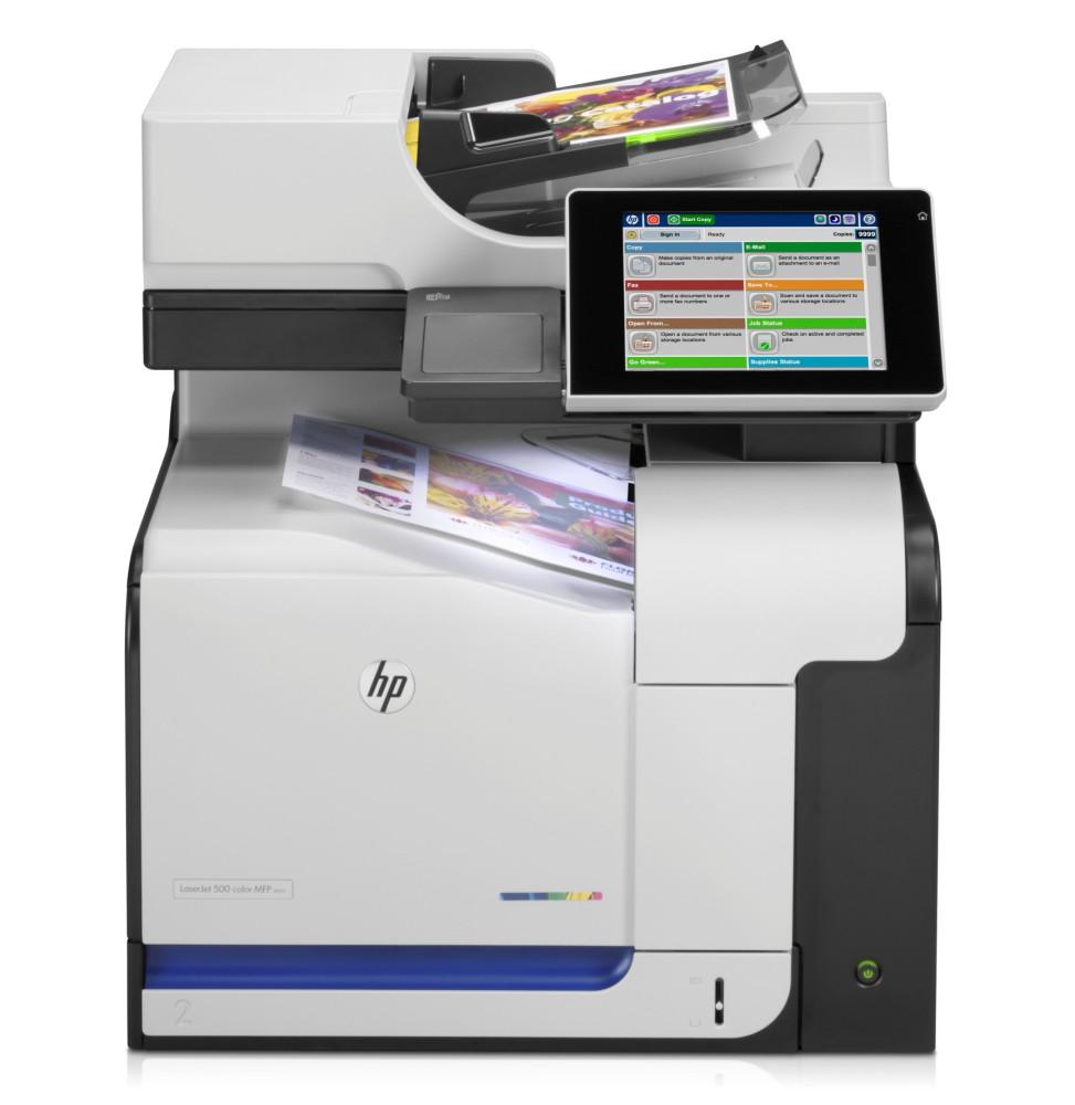 Imprimante HP LaserJet Enterprise 500 color MFP M575dn (CD644A)