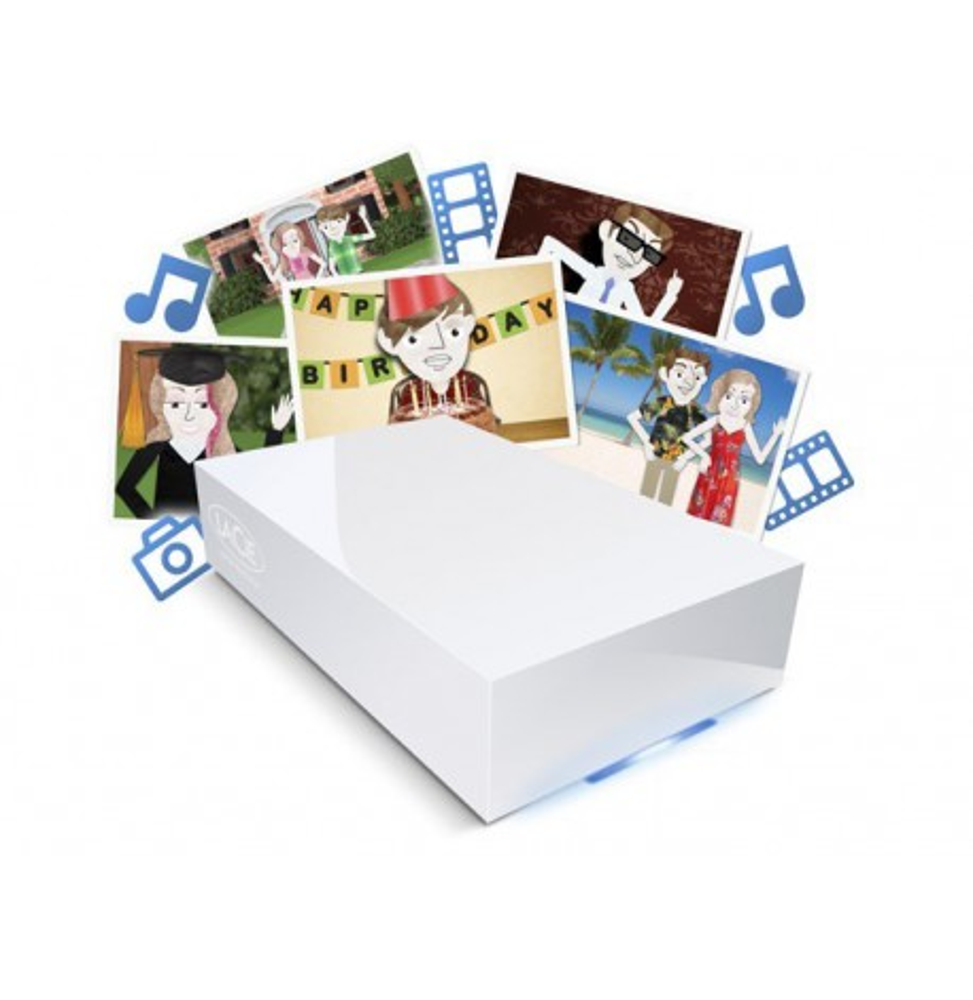 disque dur r seau lacie cloudbox 1 2 3 et 4 tb iris. Black Bedroom Furniture Sets. Home Design Ideas