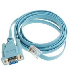 Câble série Cisco (1 x RJ-45 mâle - 1 x D-Sub (DB-9) 9 broche femelle) - 1.8 mètre