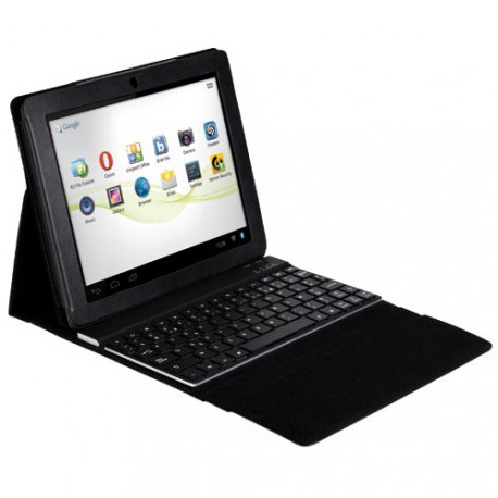 etui de protection avec clavier bluetooth aluminium pour tablette maroc. Black Bedroom Furniture Sets. Home Design Ideas