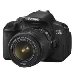 Reflex Canon EOS 650D + 18-55 DC