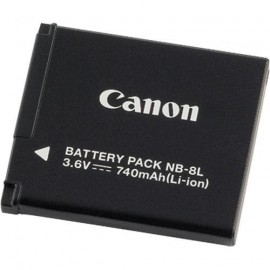 Batterie li-ion rechargeable Canon NB-8L