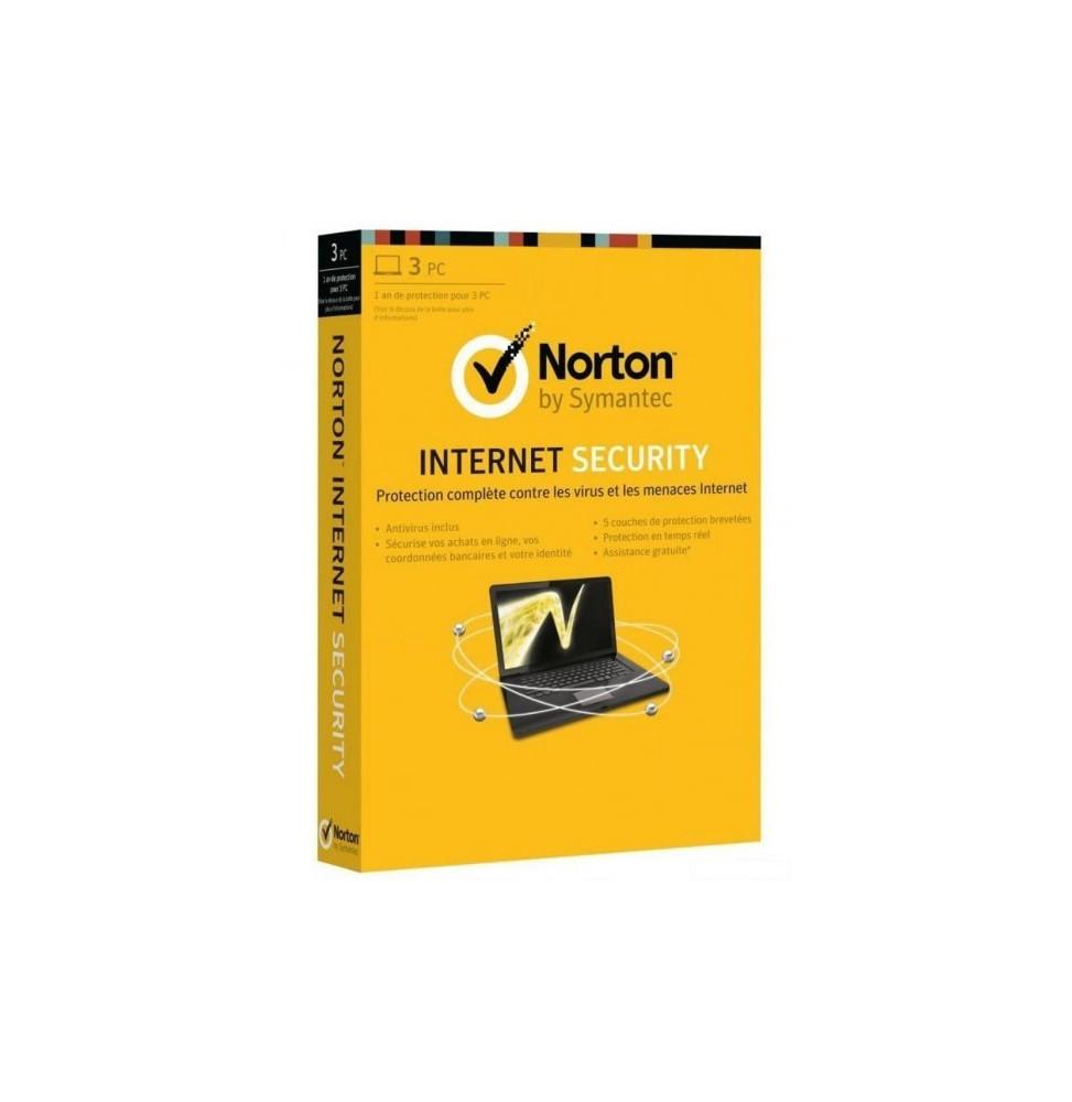 Symantec Norton Internet Security - DVD 1 an/ 3 postes (21298507)