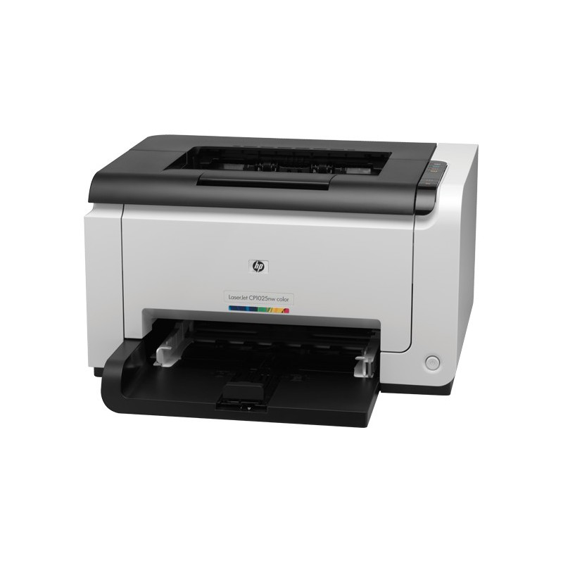 imprimante laser couleur hp laserjet pro cp1025 cf346a maroc. Black Bedroom Furniture Sets. Home Design Ideas