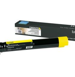 Cartouche Lexmark Jaune tres haute capacite C950 (C950X2YG)