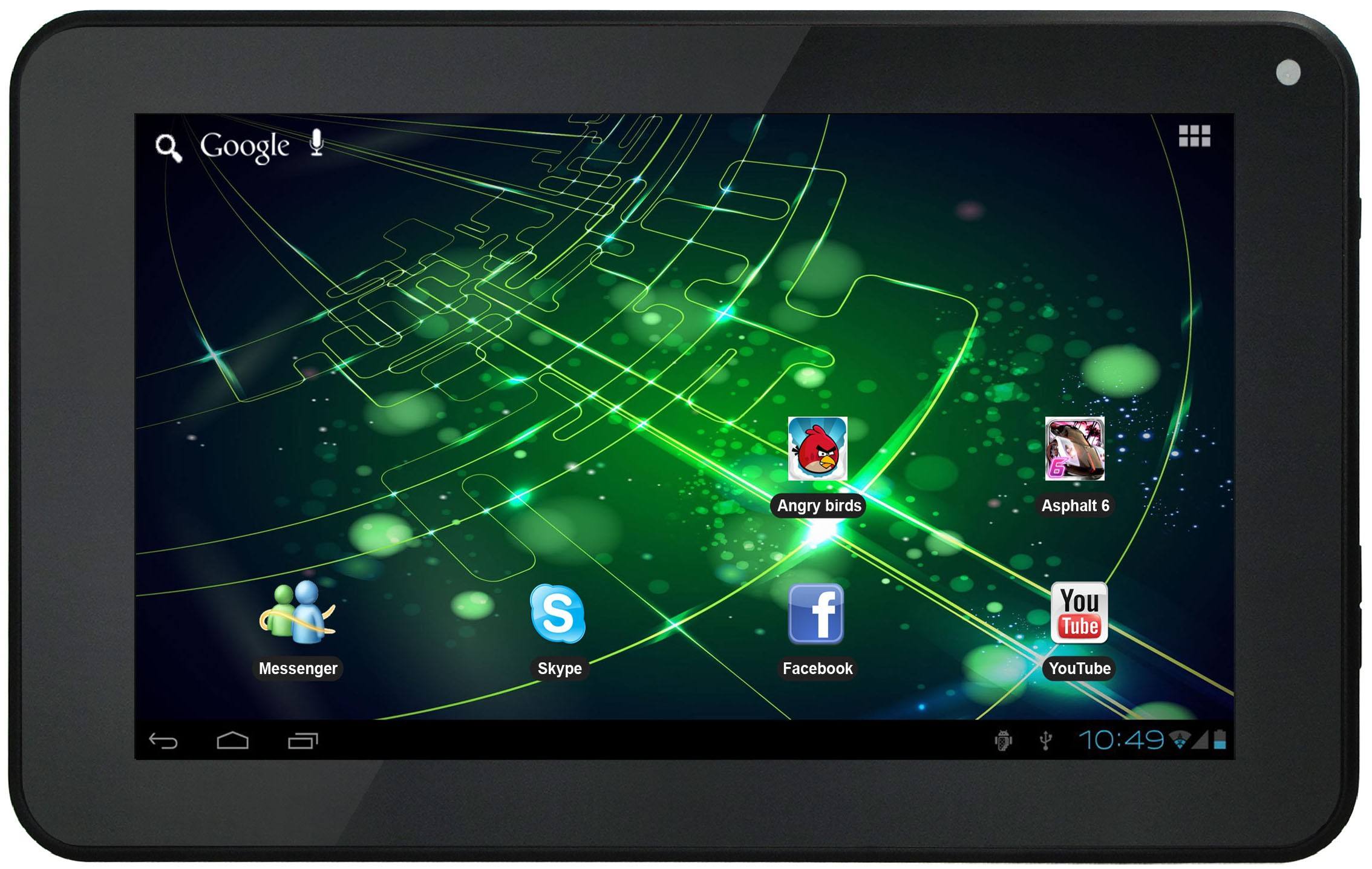 android pour tablette storex